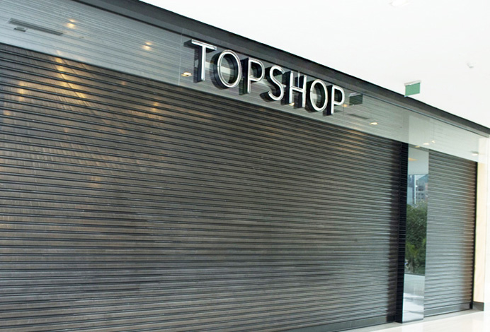 Portas de Aço - Top Shop - Shopping JK